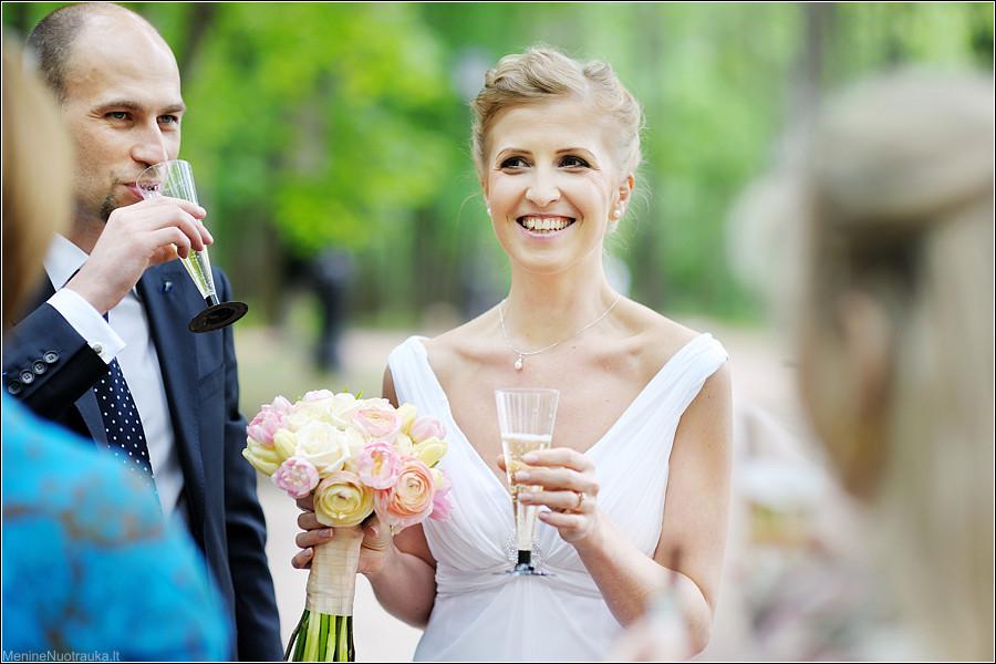 тост от жениха с невестой для гостей Как